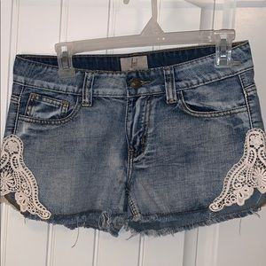 ...lost jean short
